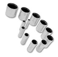 13mm recht | aluminium | koppelstuk | hm-13