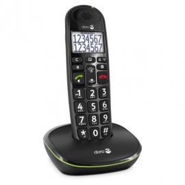 Doro PhoneEasy® 110 Dect telefoon Zwart