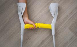 MySleeve ergonomische overtrek met magneet voor elleboogkrukken