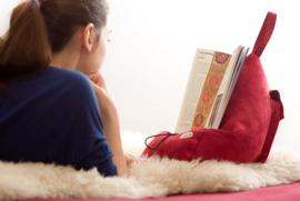 Boekensteun - The BookSeat - Rood