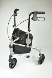 Aluminium 3-wiel rollator