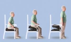UpEasy Power Seat Electrisch (0-136 kg) zitkussen met sta-op functie