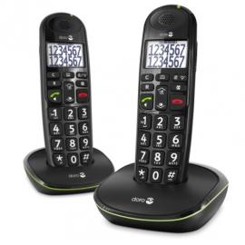 Doro PhoneEasy® 110 duo Dect telefoon Zwart
