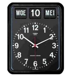 Kalenderklok BQ-12A Zwart