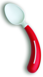 Henro-Grip lepel rechtshandig rood