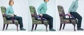 UpEasy Standaard (36 - 104 kg)  + V-foam zitkussen met sta-op functie