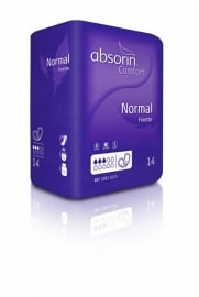 Absorin Comfort Finette Normal (14 stuks)