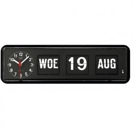 Tafelmodel Kalenderklok BQ-38 Zwart
