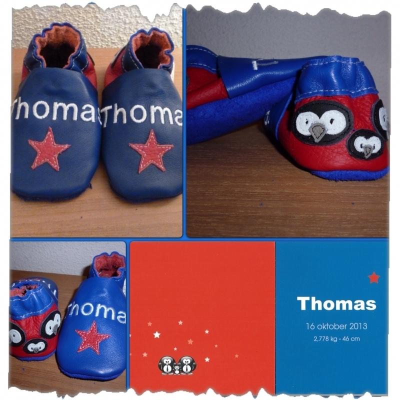Geboorteslofjes Thomas