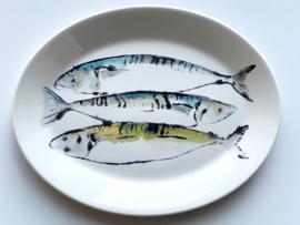 bord drie makrelen