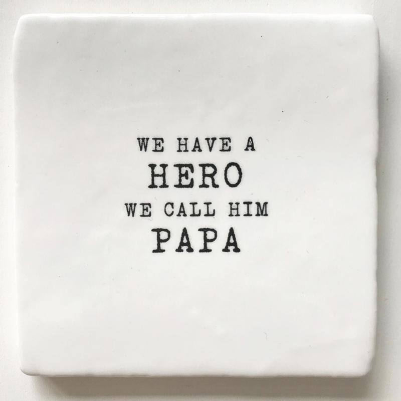 TEGEL 'WE HAVE A HERO...'
