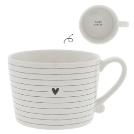 BASTION COLLECTIONS MOK STRIPES HEART