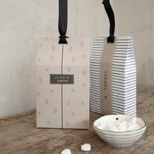 BASTION COLLECTIONS GIFT BAG PEPERMUNT JUST MARRIED