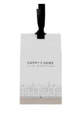 BASTION COLLECTIONS GIFT BAG PEPERMUNT HAPPY HOME