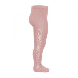 Condor maillot opengewerkt pale pink