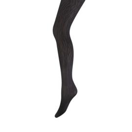Panty Marianne Zebra print zwart