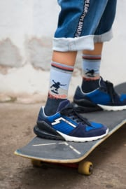Skate sock navy blue