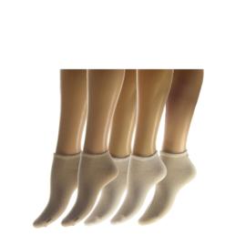 Sneaker 5-pak marine en wit