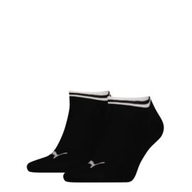 Puma sneaker zwart met wit randje 2-pak