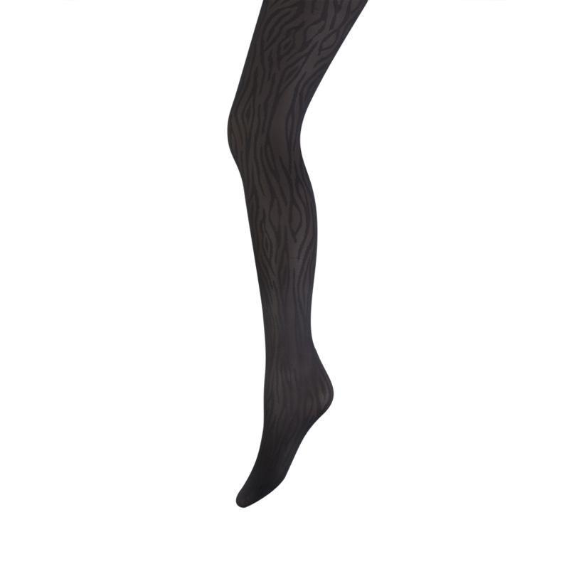 laatste mode 100% echt voortreffelijk ontwerp Panty Marianne Zebra print zwart | Fantasiepanty`s ...