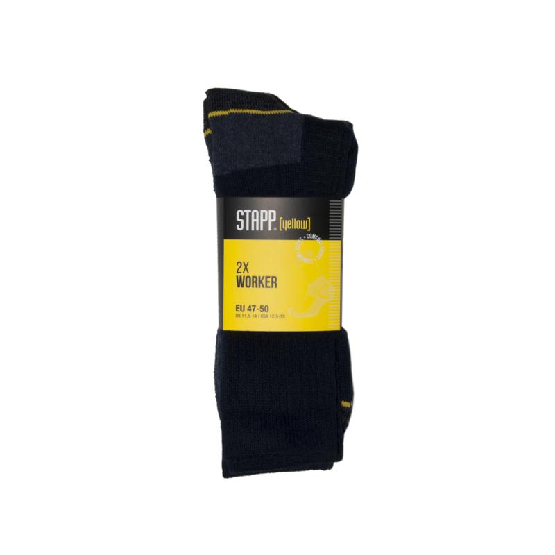Stapp Worker 2-pack zwart