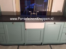 Klantfoto Mooie keuken in aanbouw van Nina