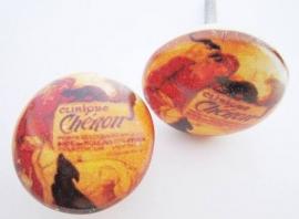 Kastknop Vintage Clinique Cheron