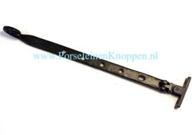 Smeedijzeren Raamuitzetter Krul 5 gaats 300mm Raamuitzetter authentiek smeedijzer