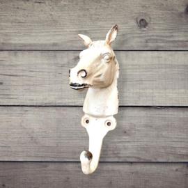 Kapstokhaak paard