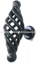 Smeedijzeren kastknop spiraal, Keuken kastknop ( 46mm ), Iron cast kitchen