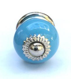 Blauwe deurknopjes, blauwe kastknopje
