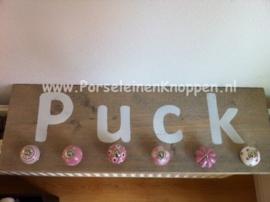 Blog kapstok maken van kastknoppen