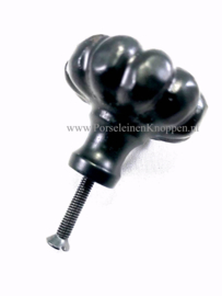Smeedijzer kastknop (38mm x 32mm)