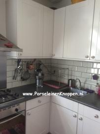 Klantfoto Keuken van Ellen met hartjes deurknopjes