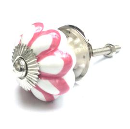 Bloem kastknopje roze