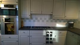 Klantfoto Keuken Hilde uit België