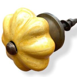 Authentieke kastknop goud