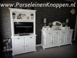 Brocante kast  en dressoir van Ineke