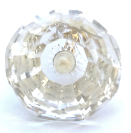 Glazen diamant kastknop