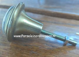 Metalen brocante kastknop