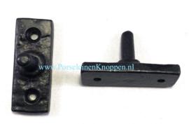 Smeedijzeren Raamuitzetter 5 gaats 300mm Authentieke raamuitzetter