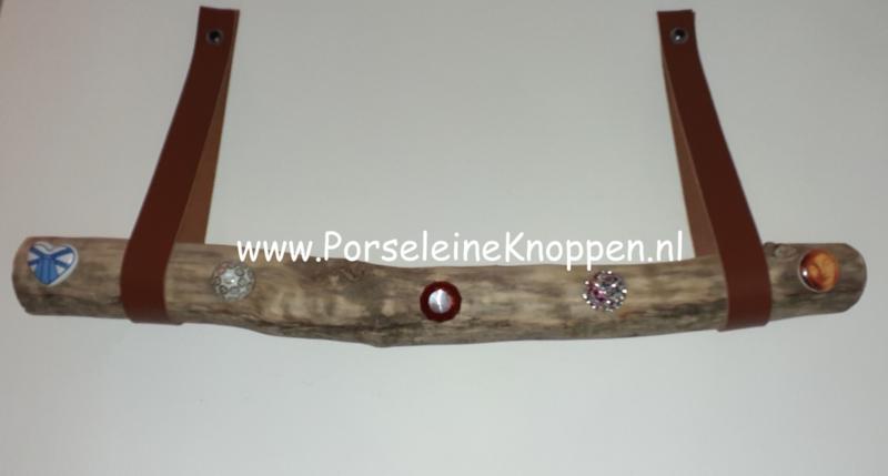 Klantfoto Zwerfhout kapstok DIY by Fineke