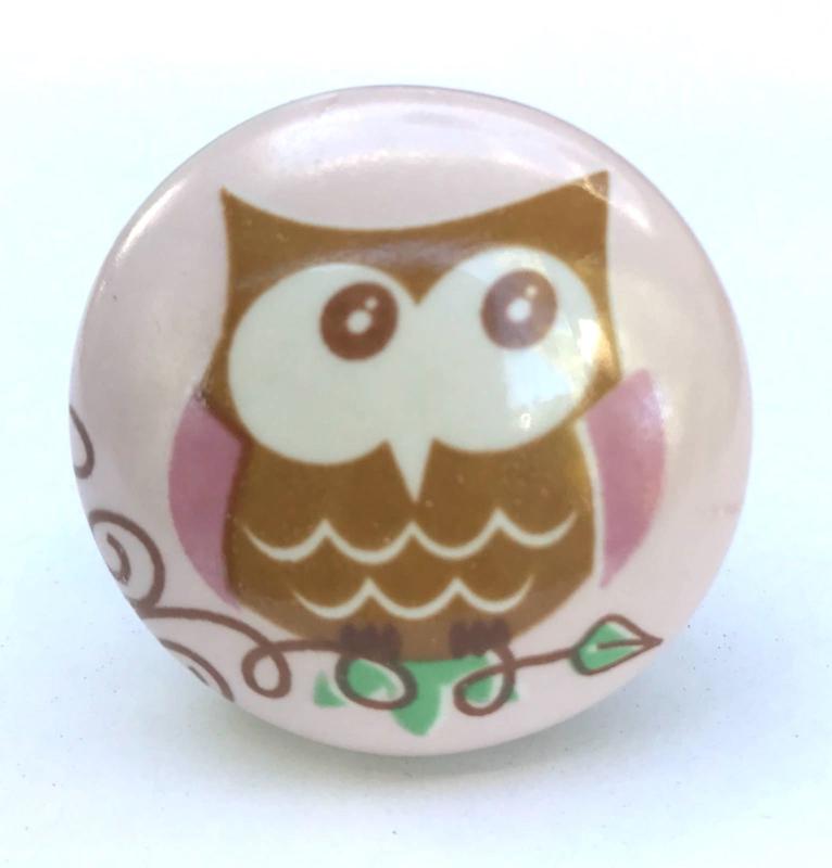 Deurknoppen Owl, Uil
