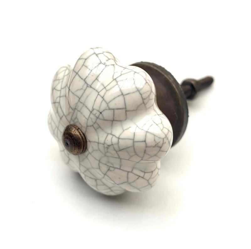Authentisch Weiße Schrankknöpfe