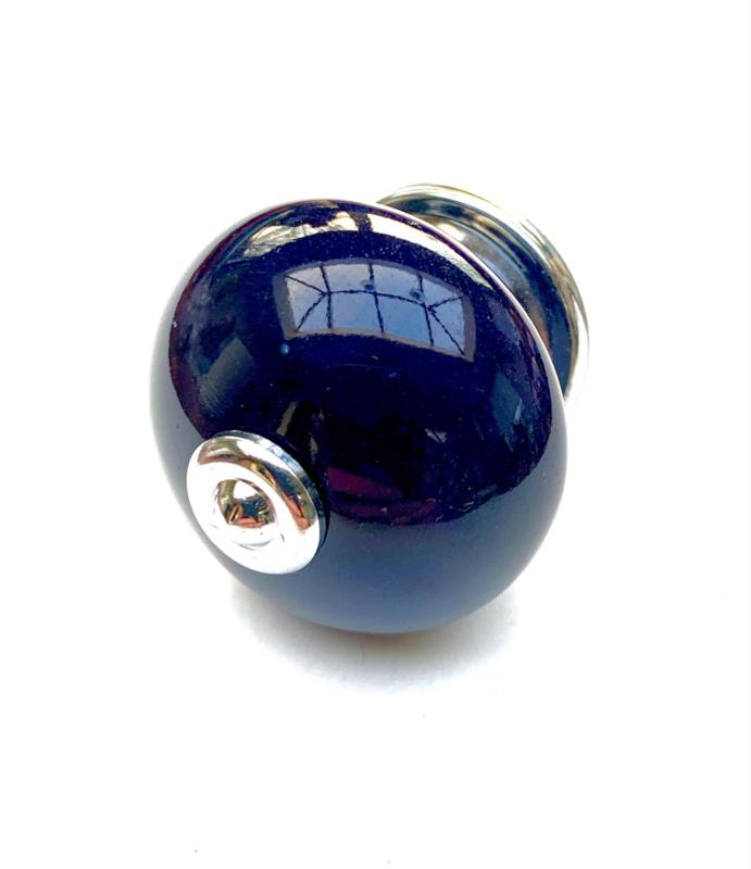 Koningsblauwe kastknop