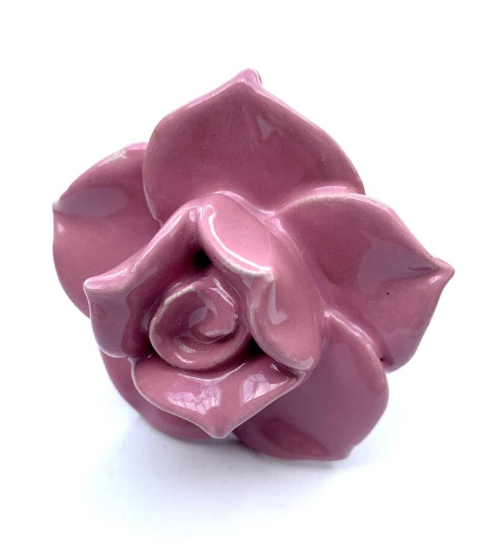 Kastknopje roze Roos