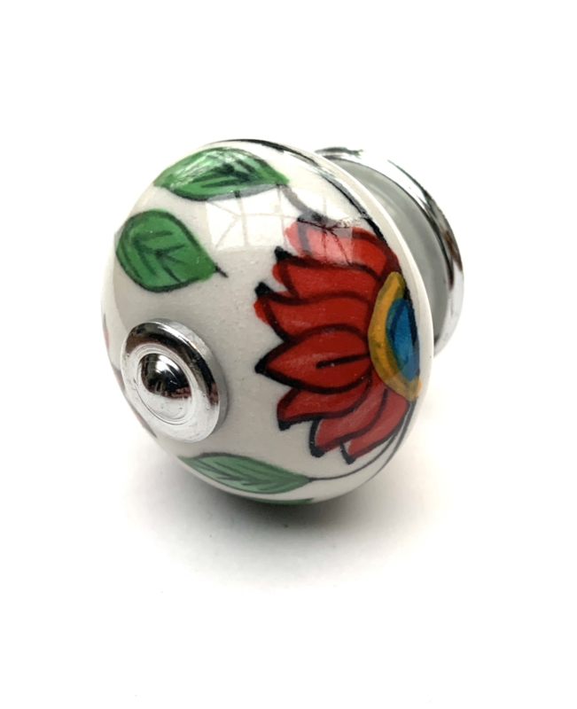 Rode kastknop Red Sunflower