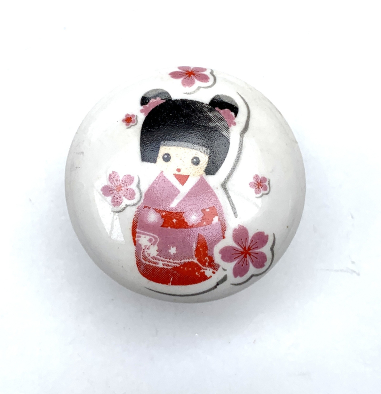 Retro kastknop Geisha