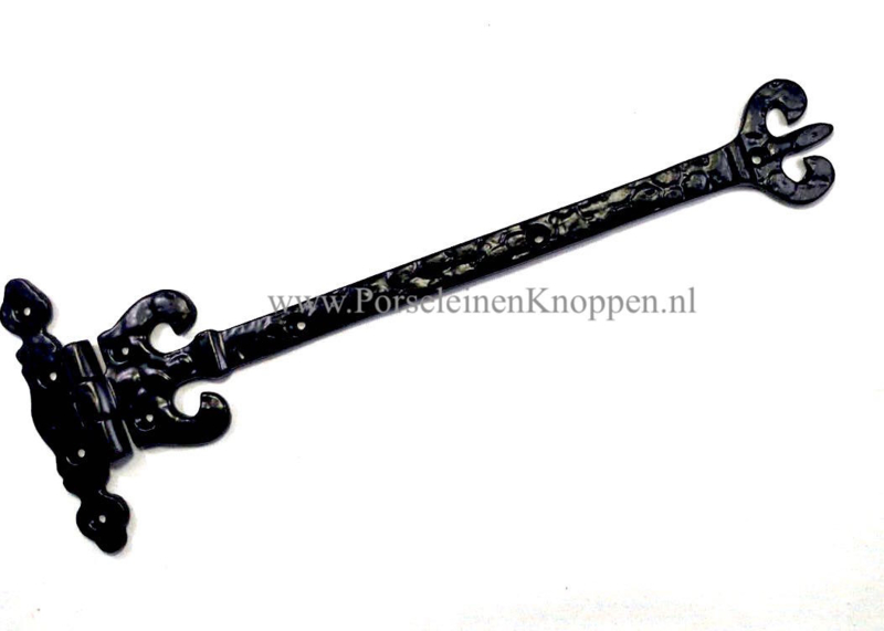 Scharnier smeedijzer Crown ( 280mm x 112mm ) smeedijzeren scharnieren