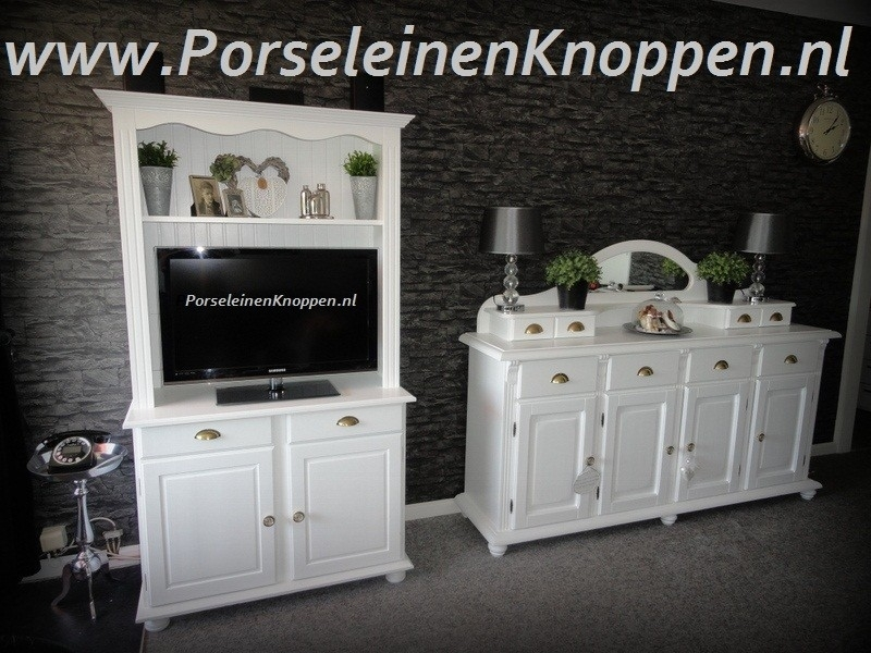 Klantfoto Brocante kast  en dressoir van Ineke